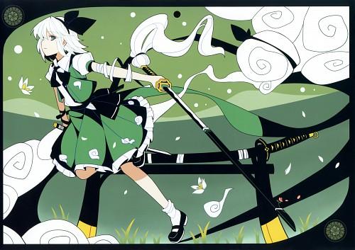 Ideolo, 2011-2012 Touhou Calendar, Touhou, Youmu Konpaku