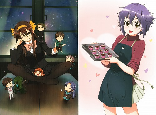 Puyo (Mangaka), Ikuko Itou, Kyoto Animation, The Melancholy of Suzumiya Haruhi, Sonou Mori
