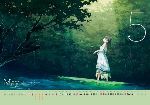Kantoku, Kantoku Calendar 2016, Shizuku (Kantoku), Calendar