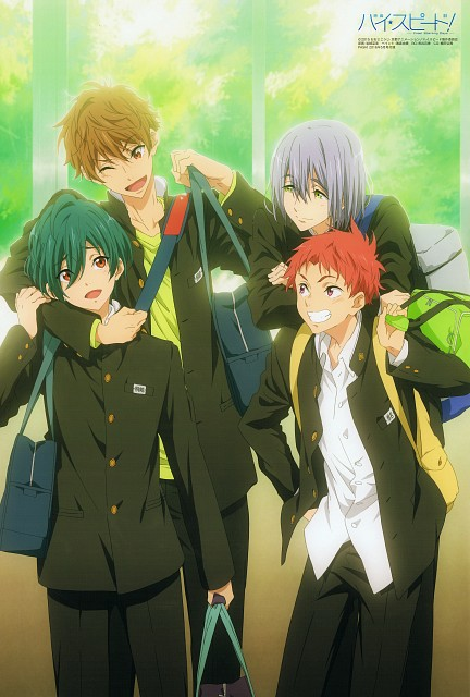 Nami Iwasaki, Kyoto Animation, Free!, Natsuya Kirishima, Ikuya Kirishima
