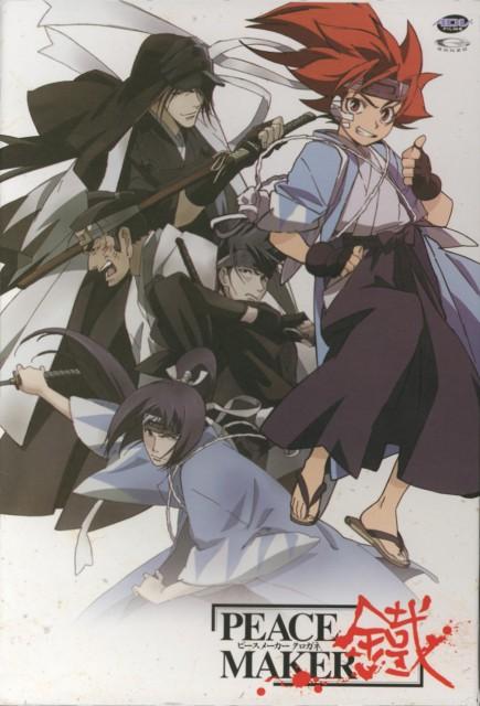 Nanae Chrono, Peacemaker Kurogane, Tetsunosuke Ichimura, Souji Okita (Peacemaker Kurogane), Isami Kondou (Peacemaker Kurogane)