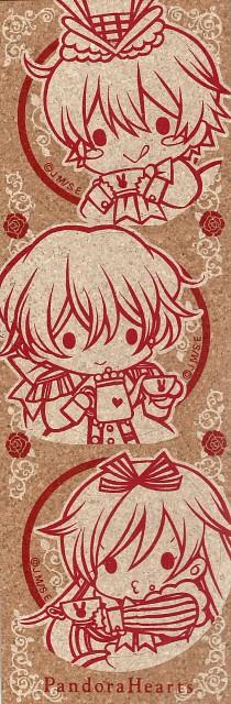 Jun Mochizuki, Xebec, Pandora Hearts, Alice (Pandora Hearts), Gilbert Nightray