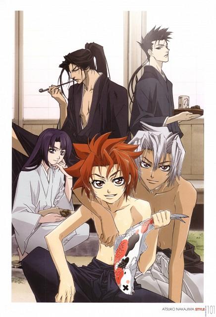 Nanae Chrono, Atsuko Nakajima, Gonzo, Peacemaker Kurogane, TSUYA - Nakajima Atsuko STYLE