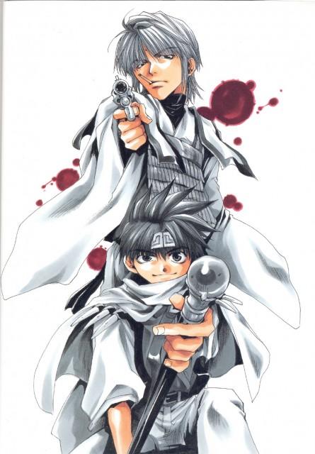Kazuya Minekura, Studio Pierrot, Saiyuki, Gensomaden Saiyuki Requiem: Visual Complete, Genjyo Sanzo