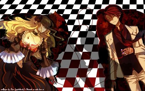 07th Expansion, Umineko no Naku Koro ni, Battler Ushiromiya, Maria Ushiromiya, Ange Ushiromiya Wallpaper