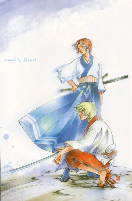 Akimine Kamijyo, Studio DEEN, Samurai Deeper Kyo, Hotaru (SDK), Akira (SDK)