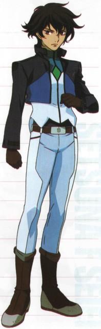 Sunrise (Studio), Mobile Suit Gundam 00, Setsuna F. Seiei