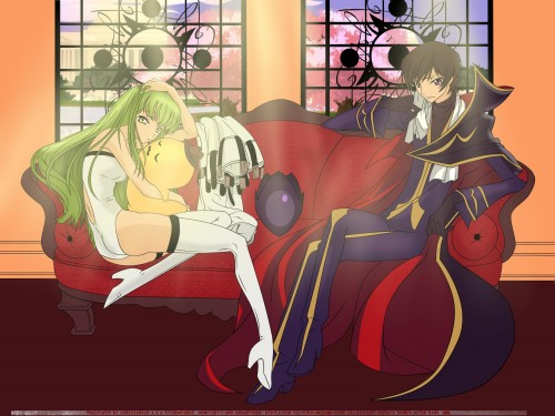 Takahiro Kimura, Sunrise (Studio), Lelouch of the Rebellion, Cheese-kun, C.C. Wallpaper