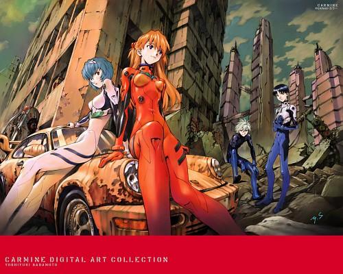 Yoshiyuki Sadamoto, Gainax, Neon Genesis Evangelion, Carmine, Kaworu Nagisa