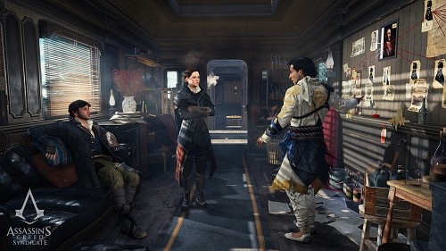 Ubisoft, Assassin's Creed Syndicate, Henry Green, Jacob Frye, Evie Frye