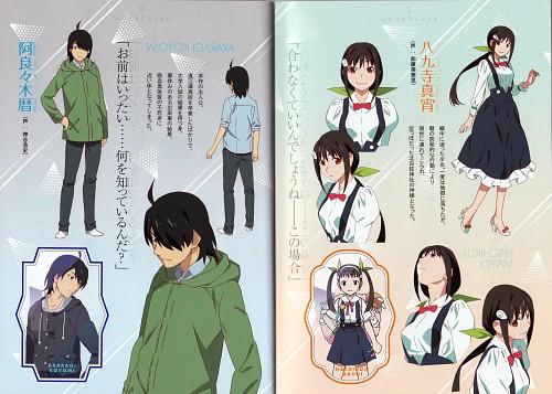 Akio Watanabe, Shaft (Studio), Bakemonogatari, Mayoi Hachikuji, Koyomi Araragi