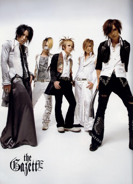 Kai, Reita, Aoi (J-Pop Idol), Ruki, Gazette