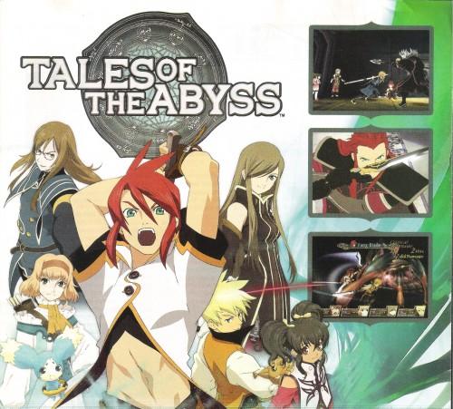 Kousuke Fujishima, Tales of the Abyss, Natalia Luzu Kimlasca Lanvaldear, Tear Grants, Anise Tatlin