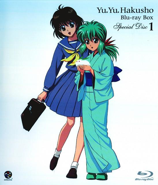 Studio Pierrot, Yuu Yuu Hakusho, Yukina, Keiko Yukimura, DVD Cover