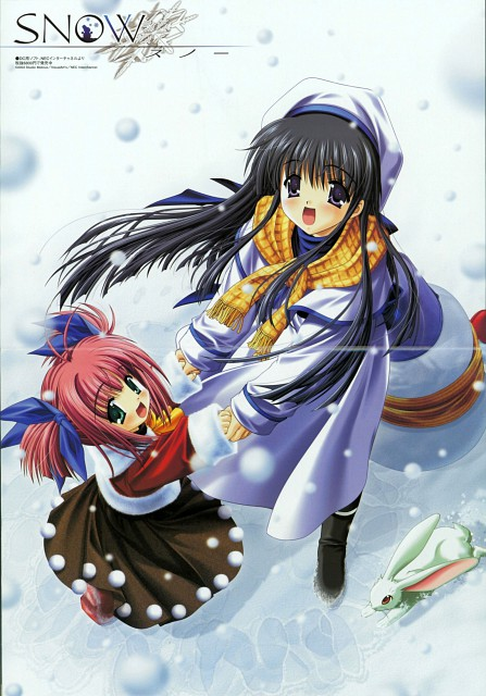 Kobuichi, Asuka Pyon, Studio Mebius, Snow (Visual Novel), Ouka Wakou