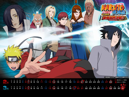 Studio Pierrot, Naruto, Oonoki , Gaara, E (Character)