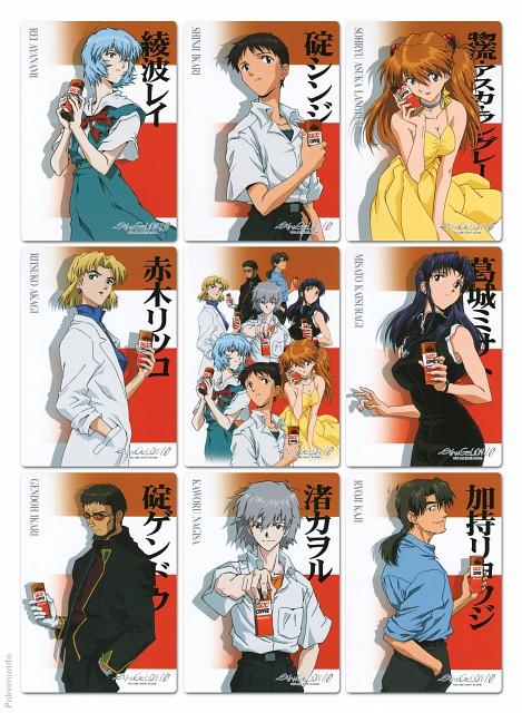 Yoshiyuki Sadamoto, Gainax, Neon Genesis Evangelion, Misato Katsuragi, Ritsuko Akagi