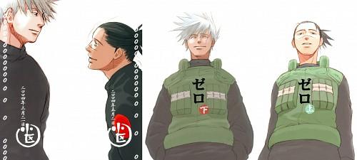 Naruto, Iruka Umino, Kakashi Hatake, Doujinshi Cover, Doujinshi