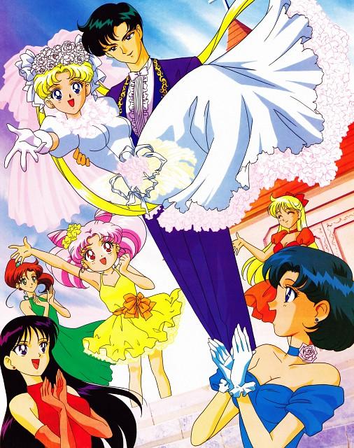 Toei Animation, Bishoujo Senshi Sailor Moon, Ami Mizuno, Chibi Usa, Minako Aino