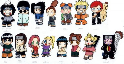 Studio Pierrot, Naruto, Neji Hyuuga, Shino Aburame, Hinata Hyuuga