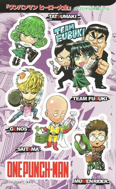 Yuusuke Murata, Onepunch-Man, Genos, Saitama, Tatsumaki