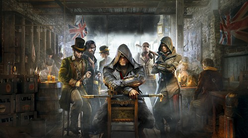 Ubisoft, Assassin's Creed Syndicate, Evie Frye, Jacob Frye, Official Wallpaper