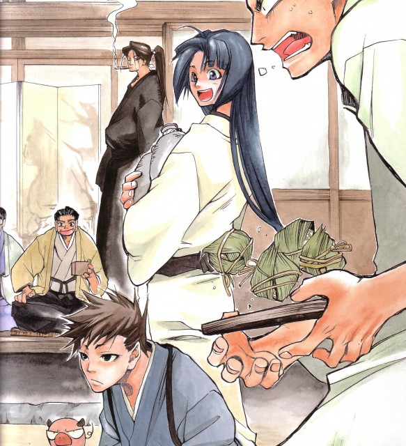 Nanae Chrono, Peacemaker Kurogane, Toshizou Hijikata (Peacemaker Kurogane), Souji Okita (Peacemaker Kurogane), Saizo