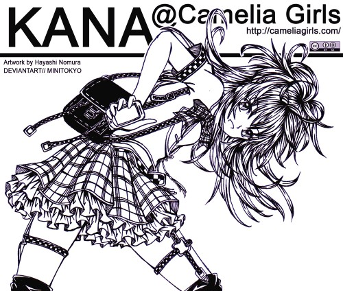 Camelia Girls, Original, Member Art