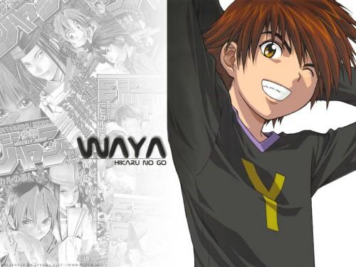 Takeshi Obata, Studio Pierrot, Hikaru no Go, Yoshitaka Waya Wallpaper