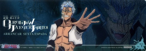 Studio Pierrot, Bleach, Grimmjow Jeagerjaques, Stick Poster