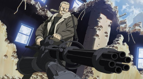 Masamune Shirow, Ghost in the Shell, Batou