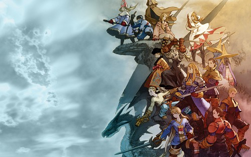 Square Enix, Final Fantasy Tactics, Official Wallpaper
