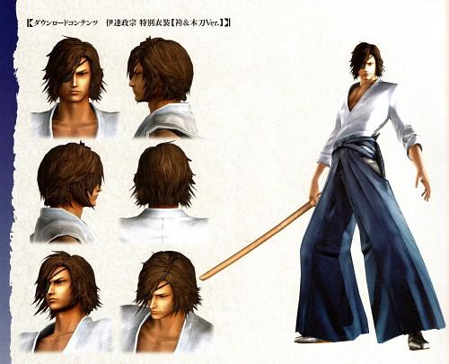 Production I.G, Capcom, Sengoku Basara, Masamune Date, Character Sheet