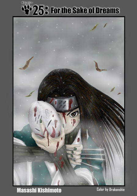 Studio Pierrot, Naruto, Haku , Colorizations