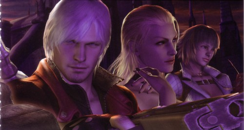 Capcom, Devil May Cry, Lady, Trish, Dante