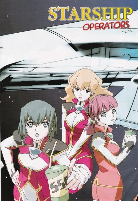 Ryo Mizuno, J.C. Staff, Starship Operators, Sanri Wakana, Renna Satomi