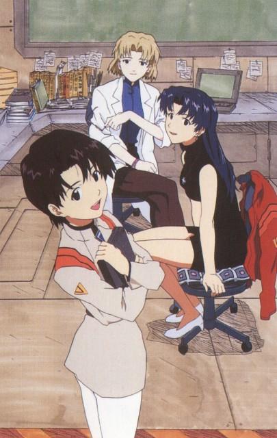 Yoshiyuki Sadamoto, Neon Genesis Evangelion, Die Sterne, Ritsuko Akagi, Misato Katsuragi