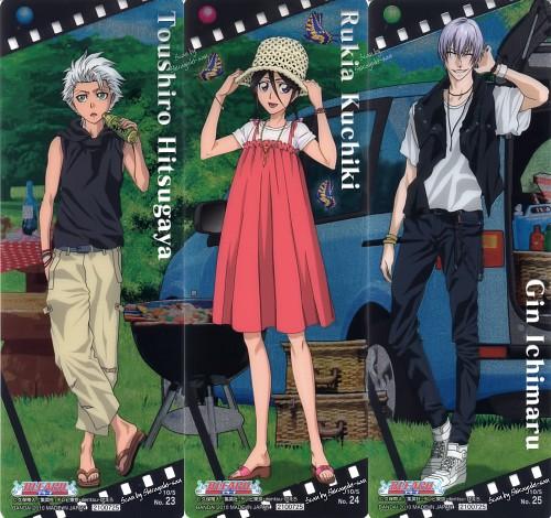 Studio Pierrot, Bleach, Gin Ichimaru, Toshiro Hitsugaya, Rukia Kuchiki