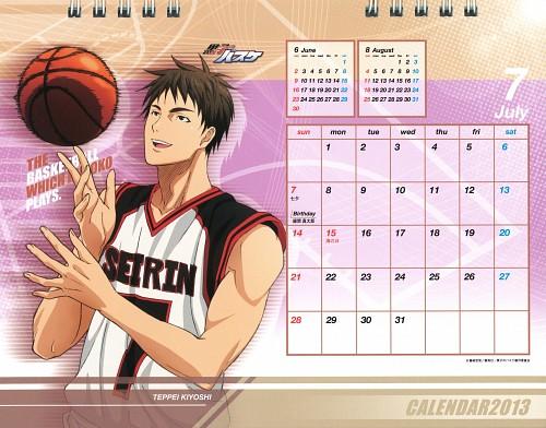 Tadatoshi Fujimaki, Production I.G, Kuroko no Basket, Kuroko no Basket 2013 Anime Calendar, Teppei Kiyoshi
