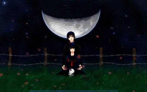 Kenji Ooiwa, Goth (Series), Yoru Morino, Itsuki Kamiyama Wallpaper
