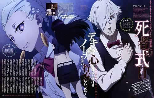 Ryouta Azuma, Madhouse, Death Parade, Chiyuki, Decim