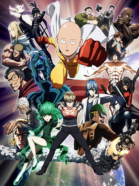 Yuusuke Murata, Madhouse, Onepunch-Man, License-less Rider, Sonic (Onepunch-man)