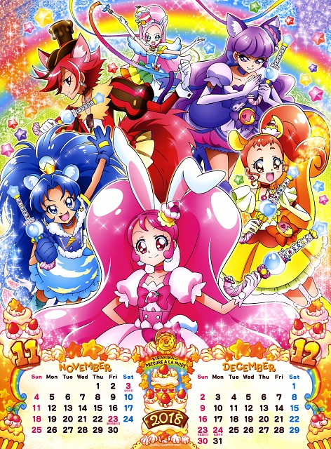 Toei Animation, Kirakira Precure A La Mode, Cure Parfait, Cure Macaron, Cure Whip
