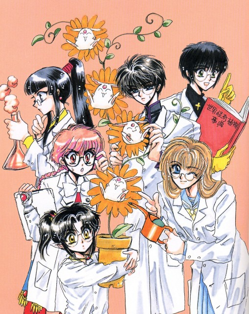 CLAMP, Madhouse, TMS Entertainment, RG Veda, Shin Shunkaden
