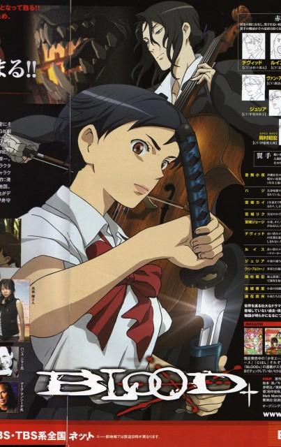 Production I.G, Blood+, Hagi, Saya Otonashi
