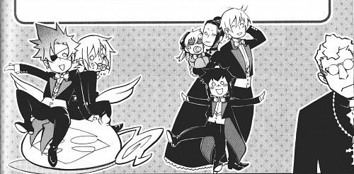 Katsura Hoshino, D Gray-Man, Road Kamelot, Allen Walker, Lavi