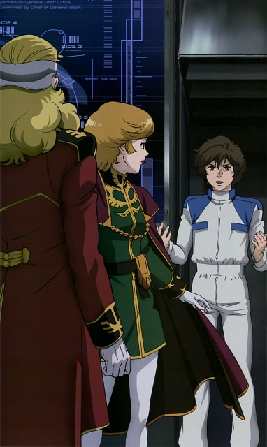 Sunrise (Studio), Mobile Suit Gundam Unicorn, Gundam Perfect Files, Banagher Links, Mineva Lao Zabi
