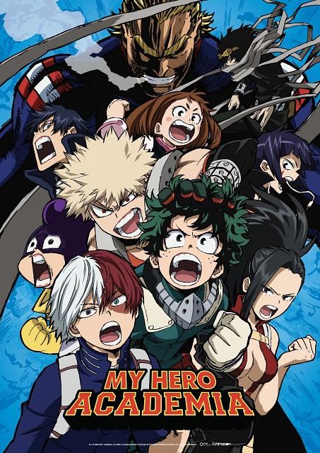 Kouhei Horikoshi, BONES, Boku no Hero Academia, Izuku Midoriya, Kyouka Jirou