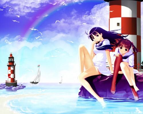 Tony Taka, T2 Art Works, Sora no Iro Mizu no Iro, Natsume Sorayama, Asa Mizushima Wallpaper
