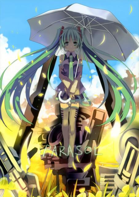 Shino (茨乃), Parasol (Vocaloid Artbook), Vocaloid, Miku Hatsune